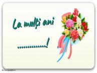 Personalizare felicitari de zi de nastere | La mulți ani ...!