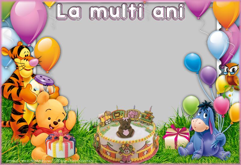 Personalizare felicitari de zi de nastere | La multi ani