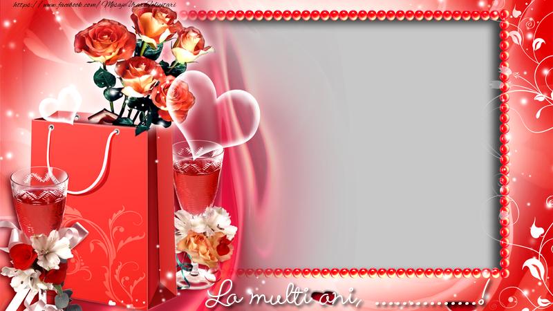 Personalizare felicitari de zi de nastere | La multi ani, ...!
