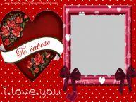 Personalizare felicitari de Valentines Day | Te iubesc