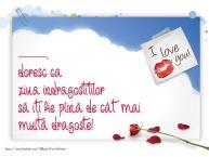 Personalizare felicitari de Valentines Day | ..., doresc ca ziua indragostitilor să iți fie plină de cât mai multă dragoste!