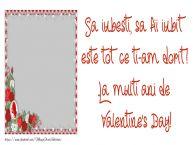 Personalizare felicitari de Valentines Day | Mesajul tau de Ziua Indragostitilor pentru prieteni