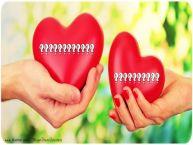 Personalizare felicitari de Valentines Day | Doua inimi ... ...