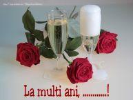 Personalizare felicitari de Ziua Numelui | La multi ani, ...!