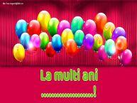 Personalizare felicitari de Ziua Numelui | La multi ani ...!