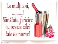 Personalizare felicitari de Ziua Numelui | La mulți ani, ...! Sănătate, fericire cu ocazia zilei tale de nume!
